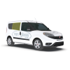 Fiat Doblo 2010 > Right Privacy Front Fixed LWB Glass