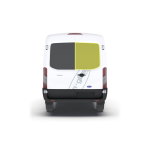 New Shape Ford Transit 2014 > Right Privacy Back Door Glass