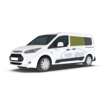 Ford Transit Connect 14 > Left Privacy Front Fixed LWB Glass