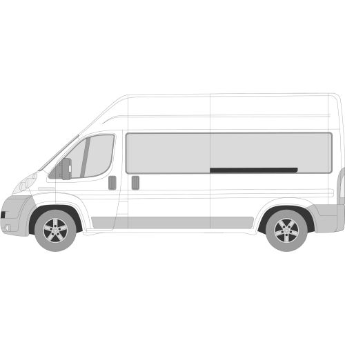 Citroen Relay 2006 > Left or Right Privacy Front Fixed LWB L2/3/4 Glass